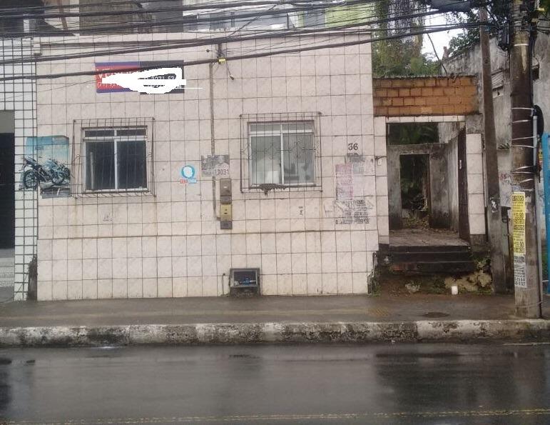 terreno em pernambués, frente de rua