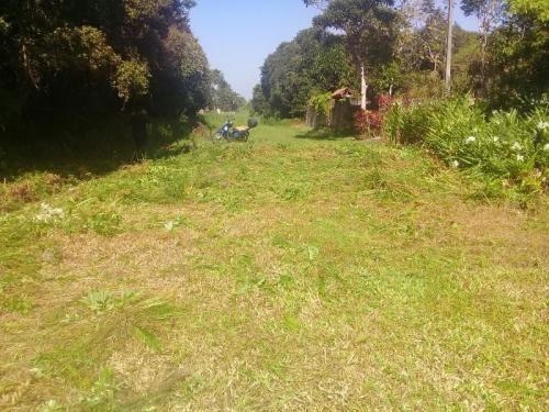 terreno em rua de terra, em itanhaém/sp