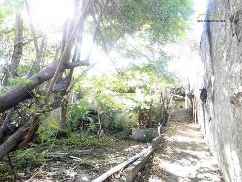 terreno em rua tranquila da ilha das flores - te0055