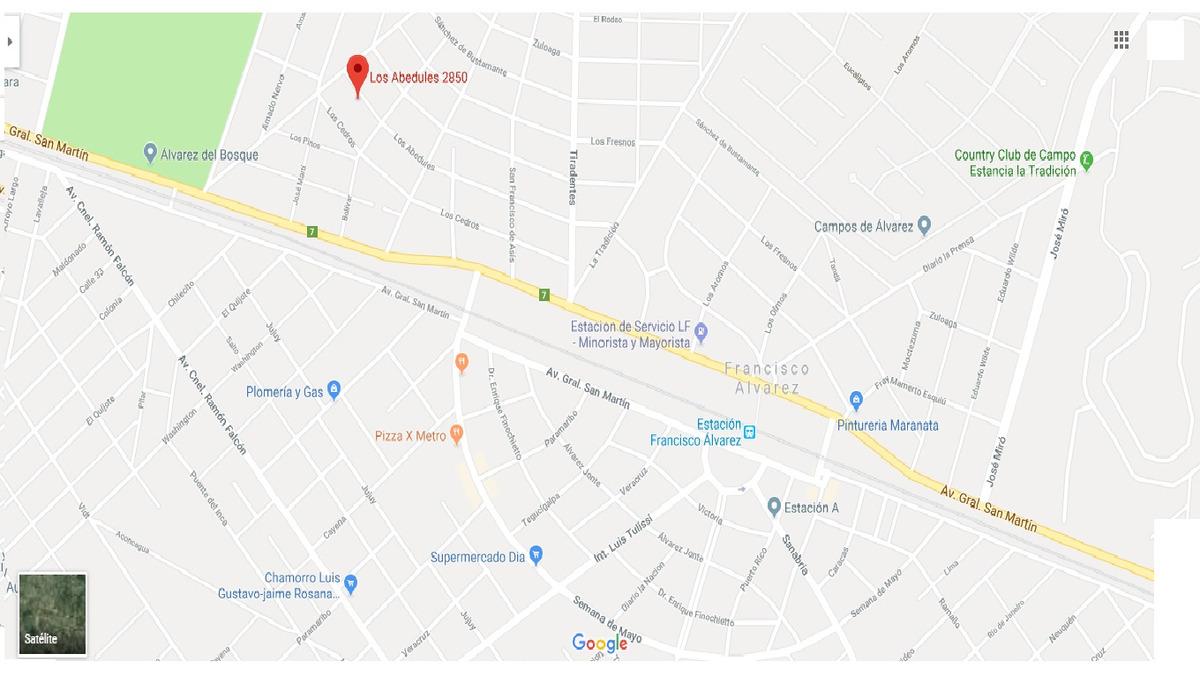terreno en abedules - francisco alvarez - moreno
