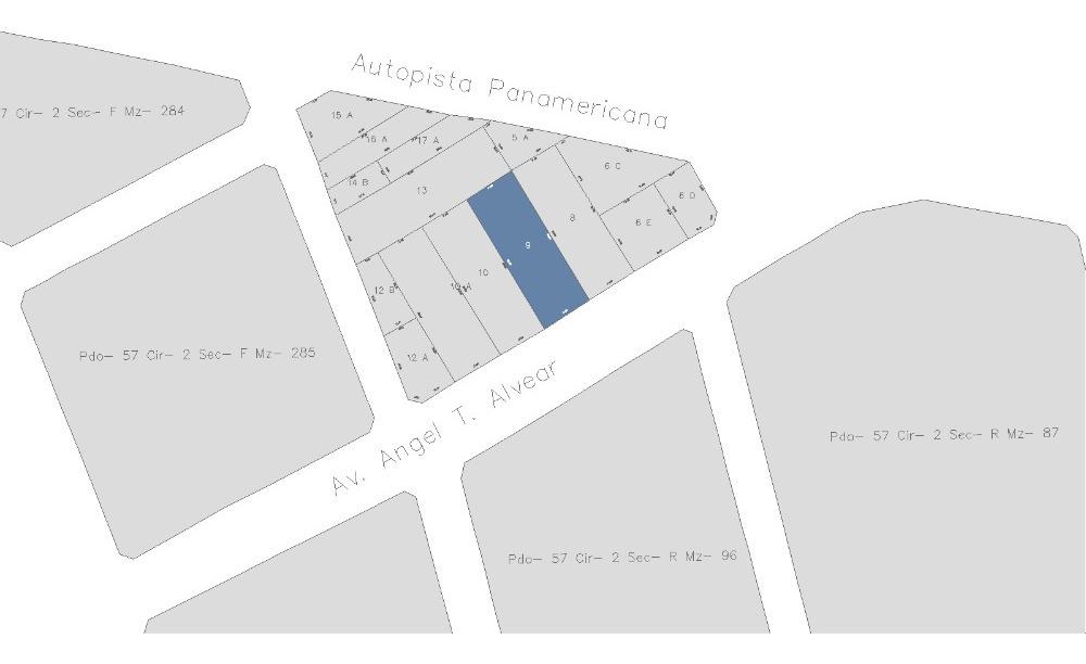 terreno en alquiler av angel alvear 2952 don torcuato 875 m2