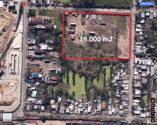 terreno en alquiler de 15.000 m2 - dock sud