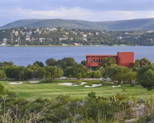 terreno en amanali country club & náutica, con hermosa vista panorámica al campo de golf