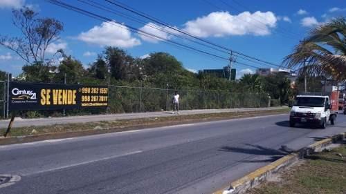 terreno en av. colosio cancun c2272