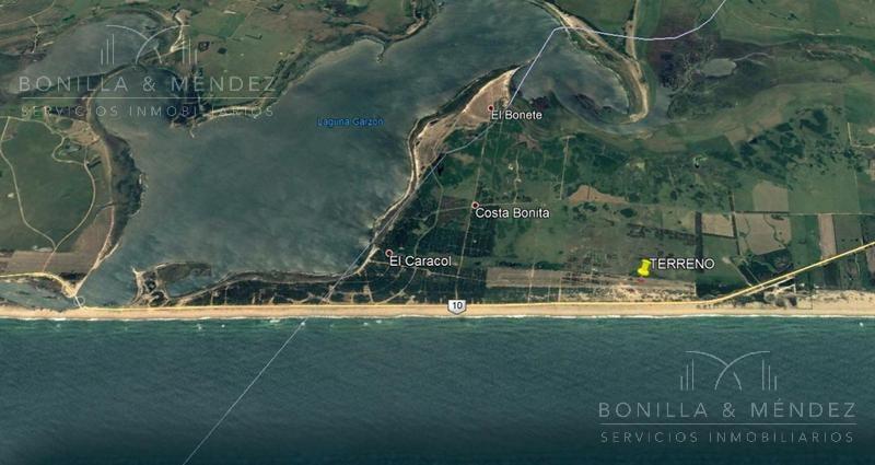 terreno en balneario san sebastián a 5km de laguna garzón