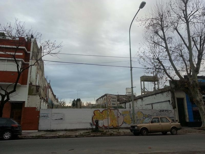 terreno en  barracas