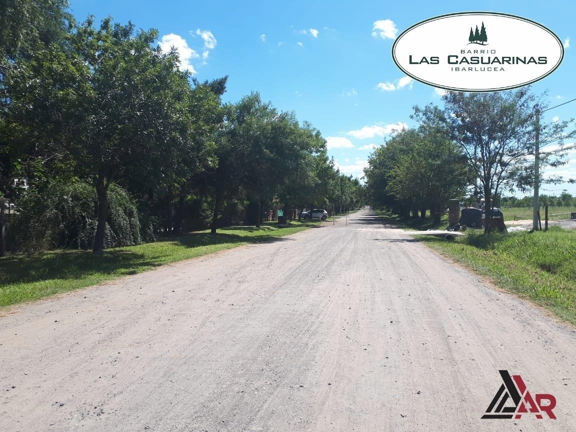 terreno en barrio cerrado las casuarinas lotes de 456 m2 ibarlucea. amplia financiacion.