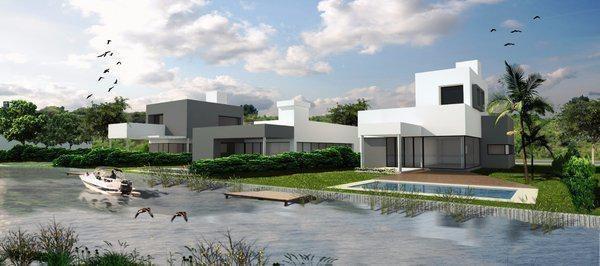 terreno en barrio semi cerrado las lagunas en villa la ñata