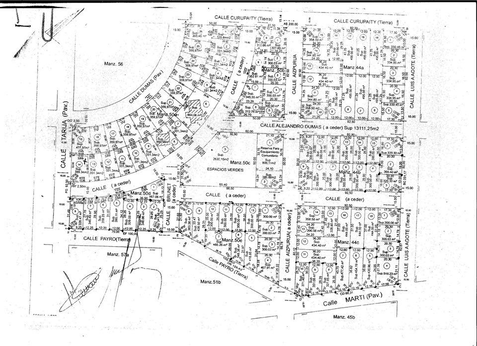 terreno en barrio tranquilo a 12 cuadras de ruta 200***