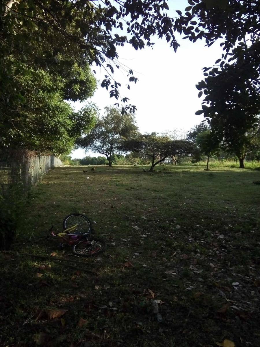 terreno en cabuya de chame, cercado, con agua y electr