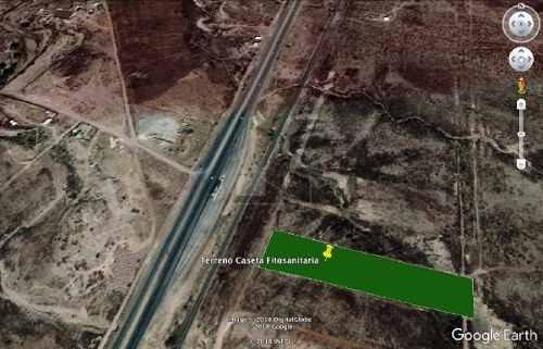 terreno en carretera chihuahua cuauhtémoc atrás de caseta fitosanitaria