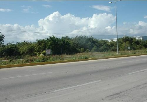 terreno en carretera federal puerto morelos