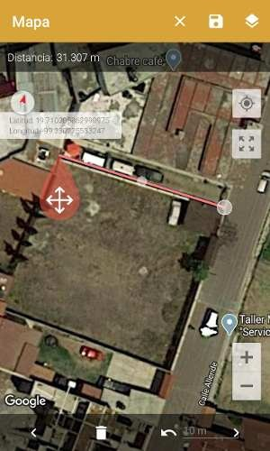 terreno en centro acreditada la zona excelente para jardín eventos