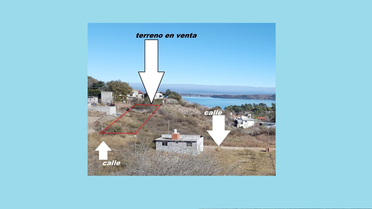 terreno en costa azul embalse calamuchita excelente zona