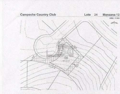 terreno en country club campeche