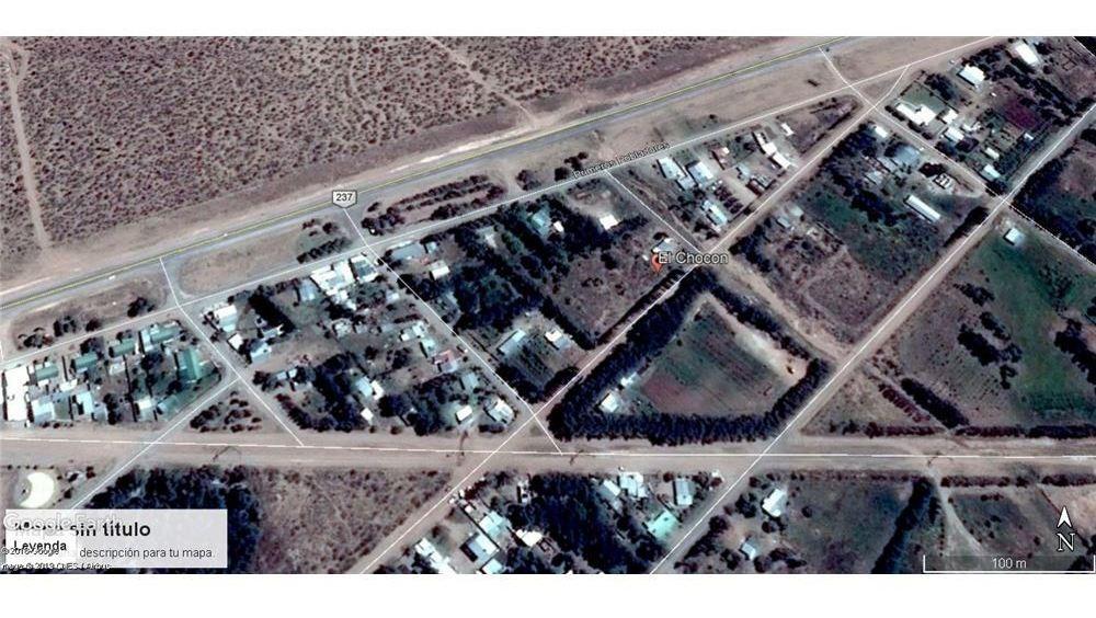 terreno en el chocon sup. 696 m2 / 636 m2