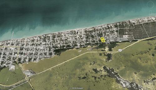 terreno en esquina chixchulub puerto zona de antros