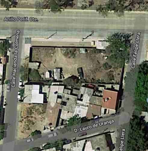 terreno en excelente ubicación sobre periférico, uso de suelo mixto 1007 m2