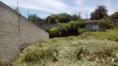 terreno  en francisco villa / xochitepec - caen-66-tu