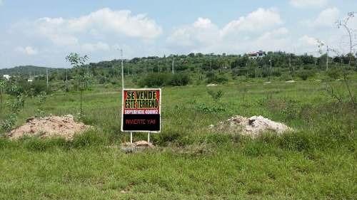 terreno en hacienda yexthó residencial country club