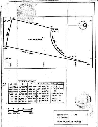 terreno en hda san martin frente los encinos 1,466 m2