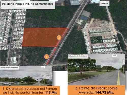terreno en industrias no contaminantes