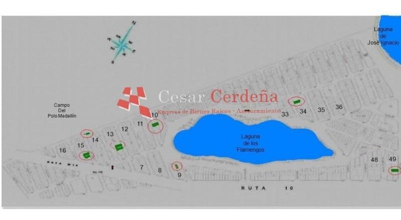 terreno en jose ignacio, santa monica | cesar cerdeña ref:1174- ref: 1174