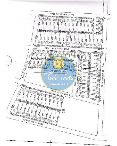 terreno en la barra, la barra | todo punta inmobiliaria ref:4737- ref: 4737
