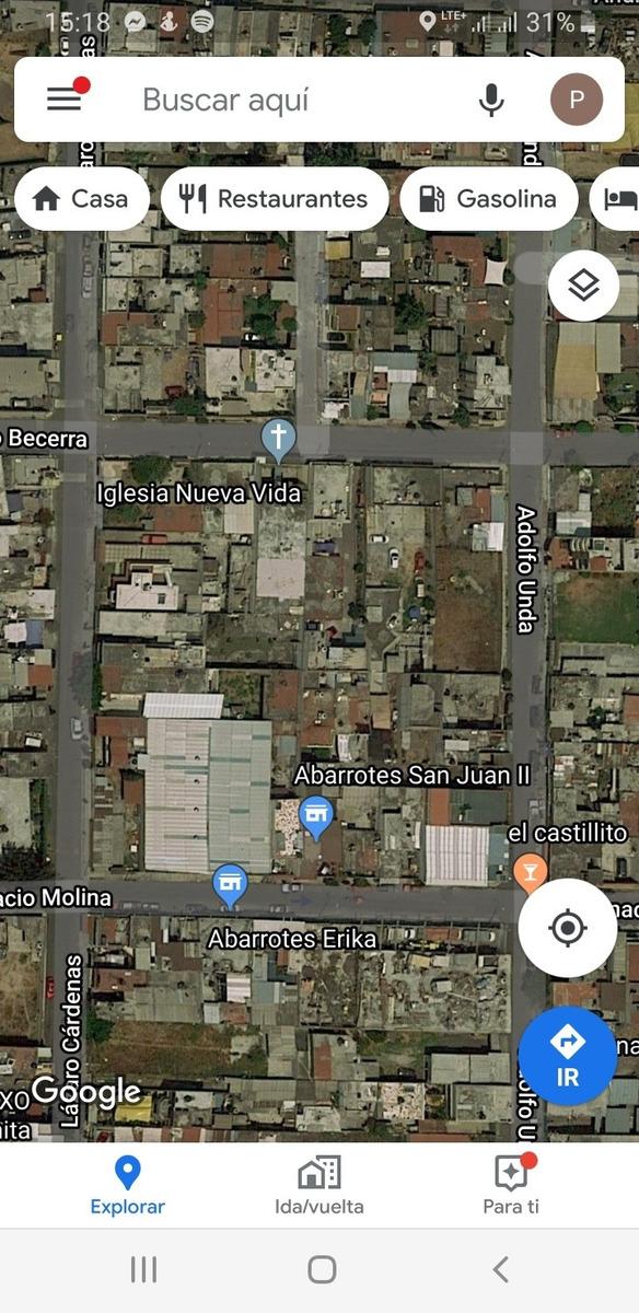 terreno en la conchita zapotilan, calle adolfo unda