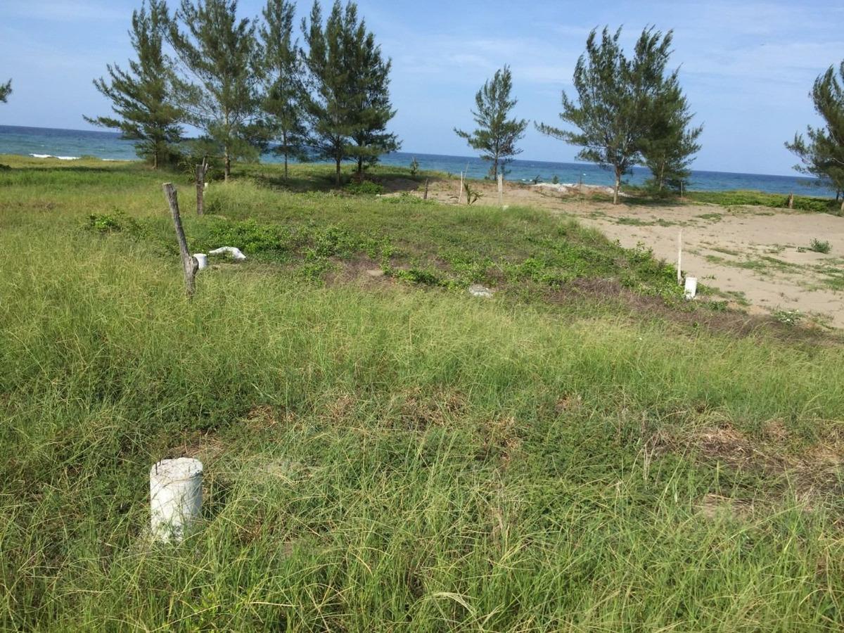 terreno en la playa