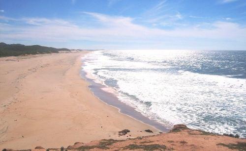 terreno en la playa.