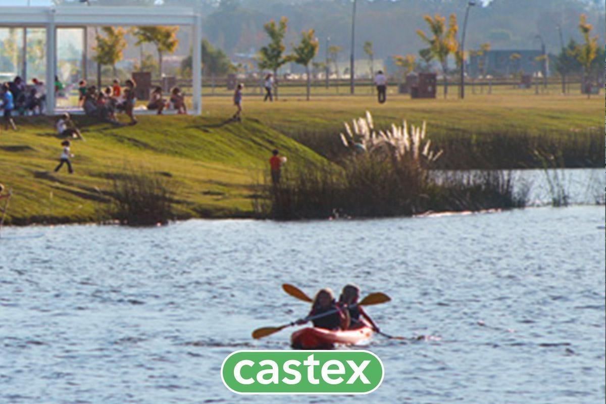 terreno en lote al lago en acacias/ puertos  del lago, escobar