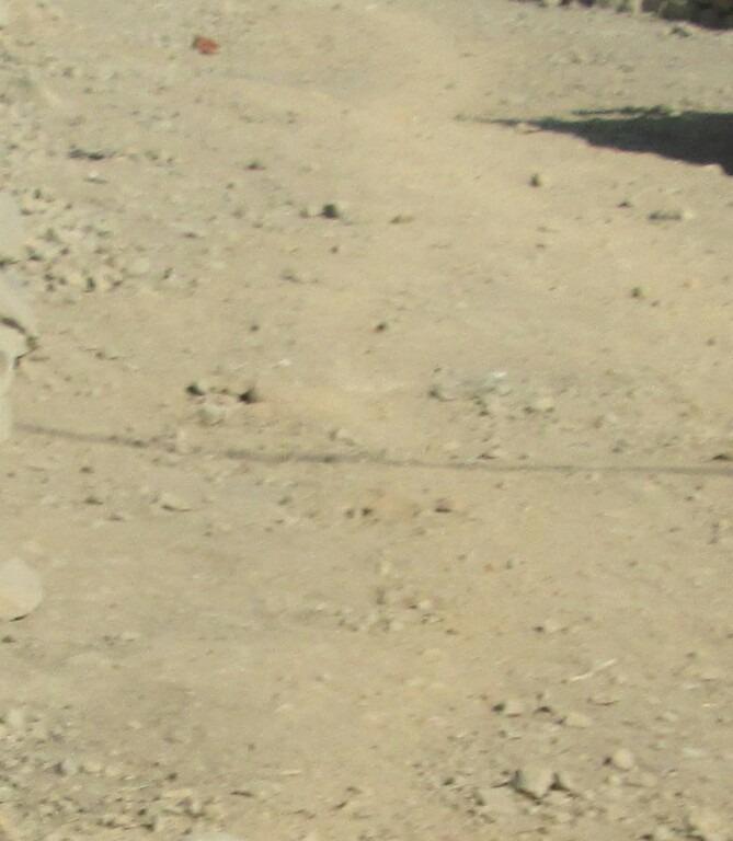 terreno en media luna jicamarca plano de 6 x 20