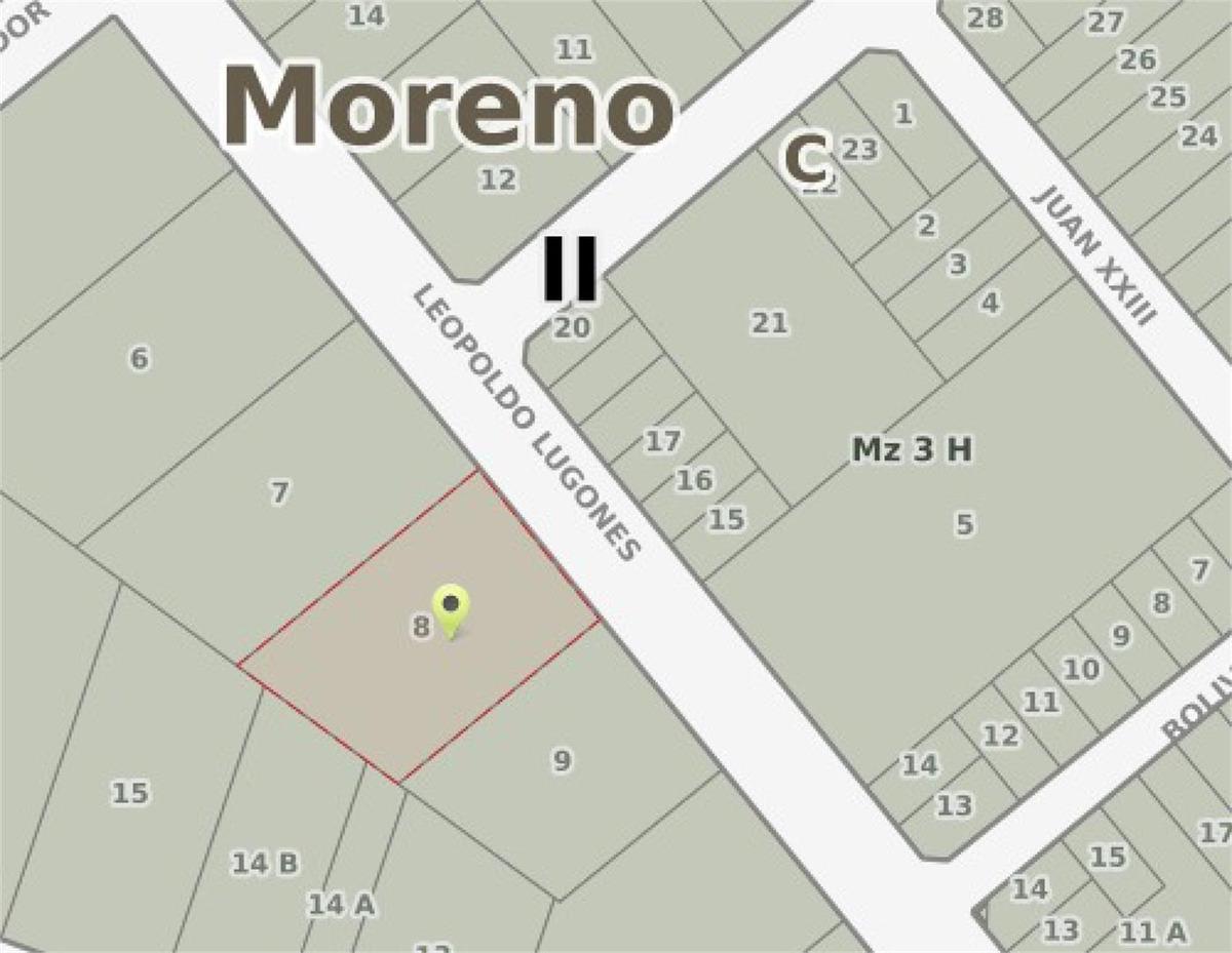 terreno en moreno  - lugones y ruta 5 (ex 7)