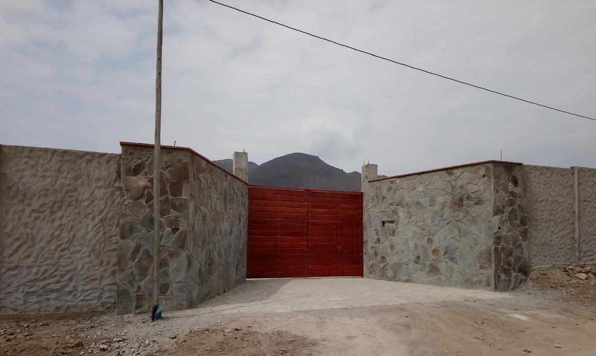 terreno en pachacamac 1000 m2