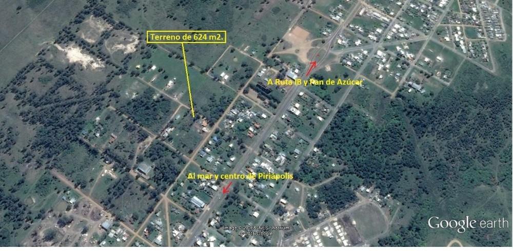 terreno en piriápolis (zona altos de la iglesia) (ref. 2089)