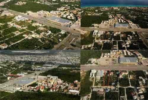 terreno en playa del carmen frente a sam s club