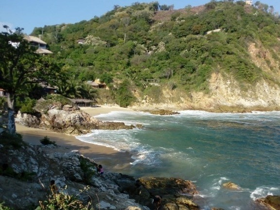terreno en playa estacahuite, oaxaca