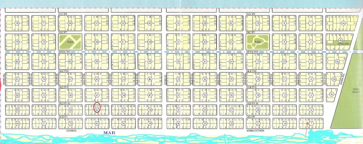 terreno en playa grande de san clemente