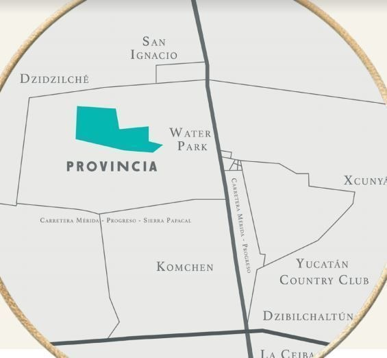 terreno en privada a la venta al norte de mérida