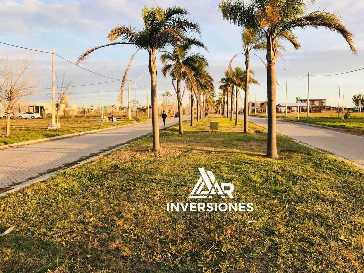 terreno en puerto san martin - esquina con alternativa de financiacion - ubicacion privilegiada