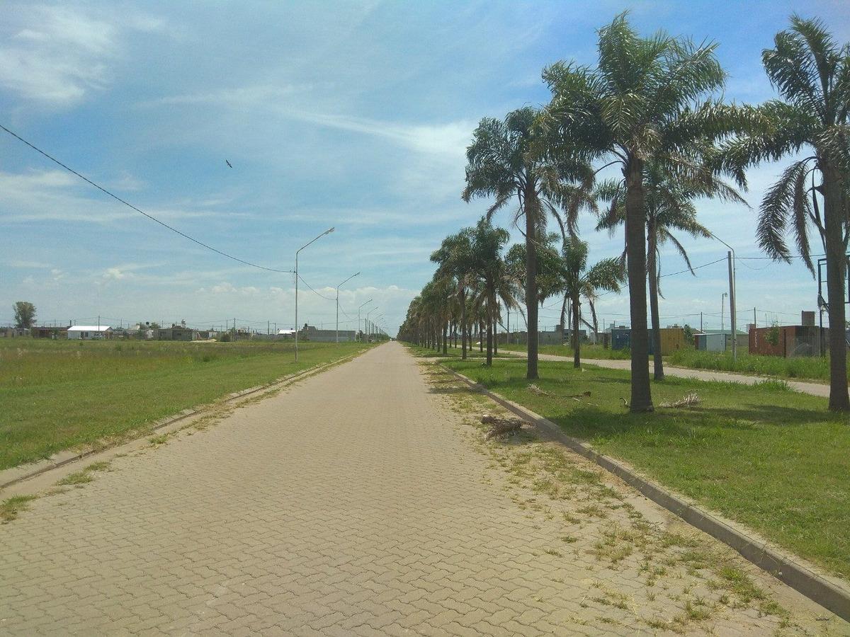 terreno en puerto san martin - lote de 288 m2 - posibilidad de financiar