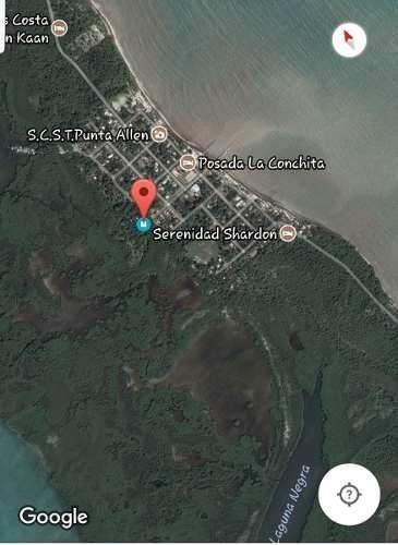 terreno en punta allen, a pasos del mar caribe!