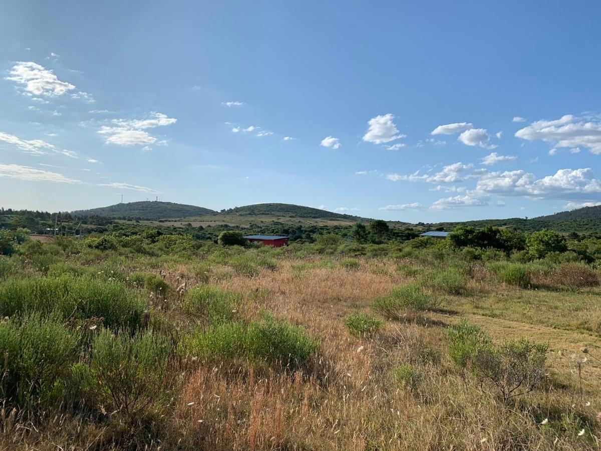 terreno en punta colorada 1228m2 con vista a los cerros