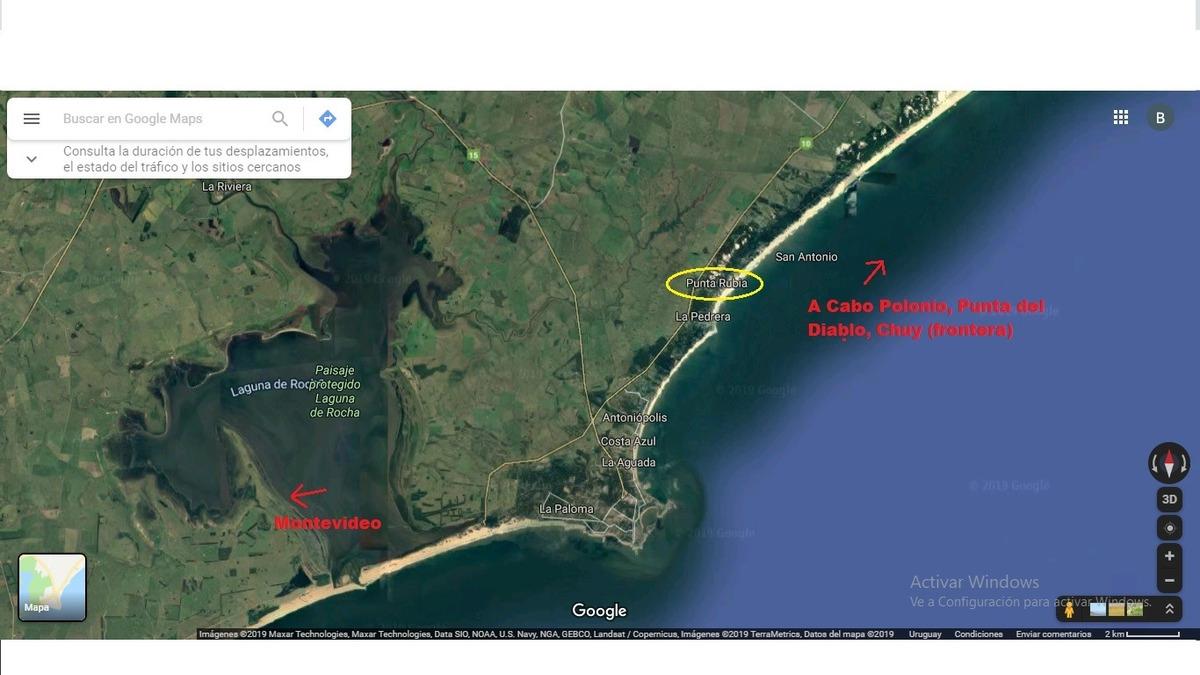 terreno en punta rubia a 200 metros del océano (ref. 2706)