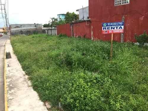 terreno en renta cunduacan centro