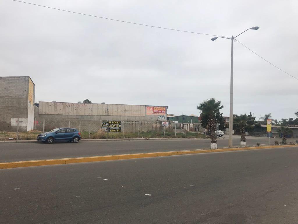 terreno en renta en col. ampliación benito juarez, playas de rosarito b.c.