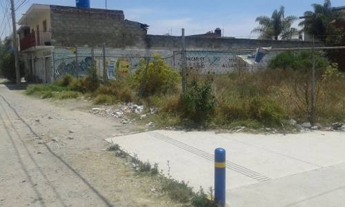 terreno en renta en esquina cerca de la 11 sur ideal para franquicia o comercio