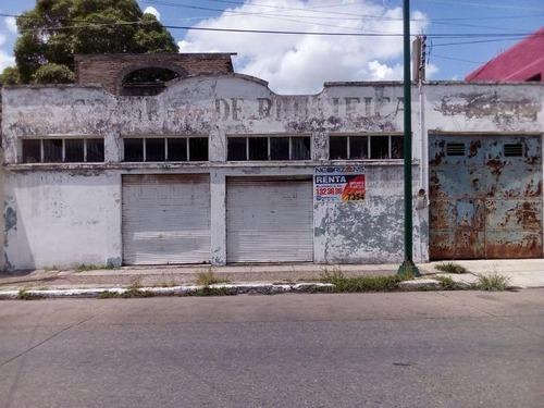terreno en renta. zona centro de tampico. calle h. de chapultepec