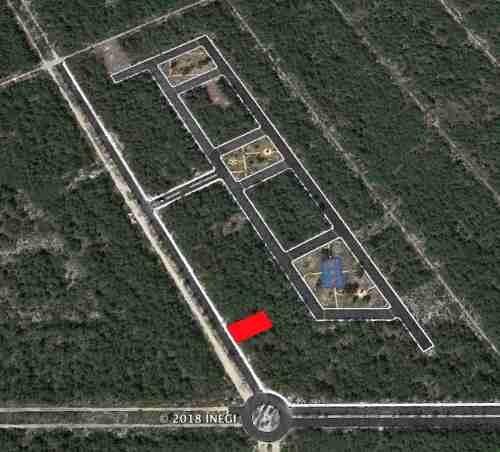 terreno en residencial kaab. uso comercial o residencial. venta o renta.